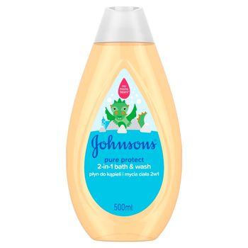 Johnson's Pure Protect Płyn do kąpieli i mycia ciała 2w1 500 ml