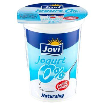 Jovi Jogurt naturalny 0% tłuszczu 370 g