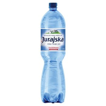 Jurajska Naturalna woda mineralna gazowana 1,5 l