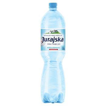 Jurajska Naturalna woda mineralna niegazowana 1,5 l