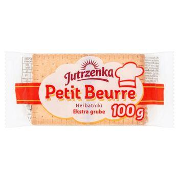 Jutrzenka Herbatniki Petit Beurre ekstra grube 100 g