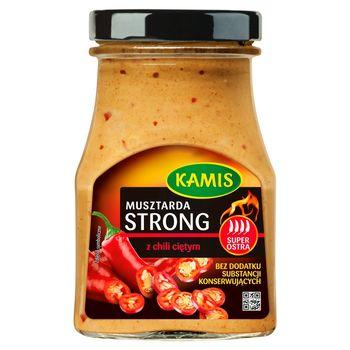 Kamis Musztarda strong z chili ciętym 185 g