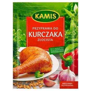 Kamis Przyprawa do kurczaka złocista Mieszanka przyprawowa 30 g
