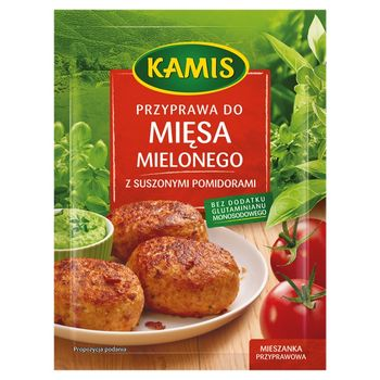 Kamis Przyprawa do mięsa mielonego z suszonymi pomidorami Mieszanka przyprawowa 20 g