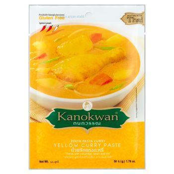 Kanokwan Żółta pasta curry 50 g