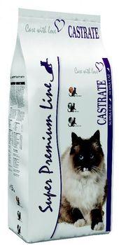 Karma SUPRA CAT Castrate 1.5 kg z rybą i drobiem