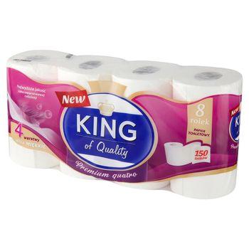 King of Quality Premium Quatro Papier toaletowy 8 rolek