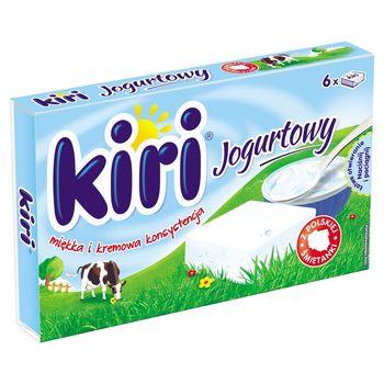 Kiri Jogurtowy Ser topiony 100 g (6 porcji)