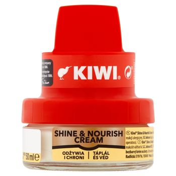 Kiwi Shine & Nourish Cream Krem do obuwia bezbarwny 50 ml