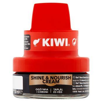 Kiwi Shine & Nourish Cream Krem do obuwia czarny 50 ml