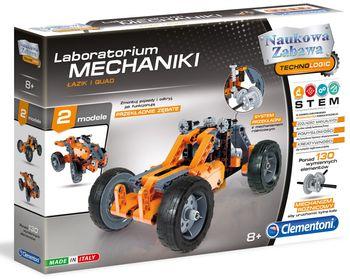 Klocki CLEMENTONI Laboratorium Mechaniki - Łazik i Quad 60954