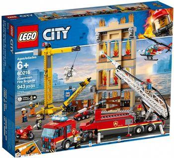 Klocki LEGO Straż pożarna w śródmieściu 60216