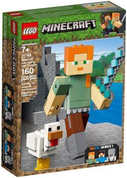 Klocki plastikowe LEGO Alex z kurczakiem 21149