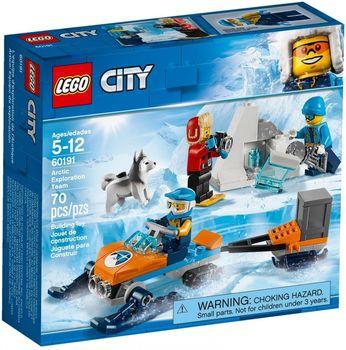 Klocki plastikowe LEGO Arktyczny zespół badawczy 60191
