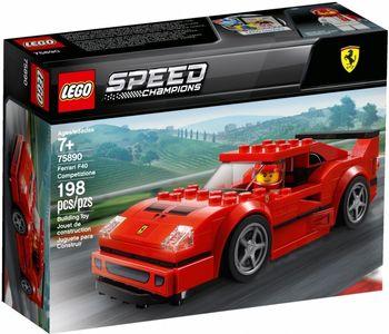 Klocki plastikowe LEGO Ferrari F40 Competizione 75890