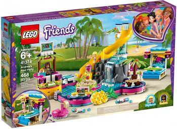 LEGO Friends Impreza Andrei na basenie 41374