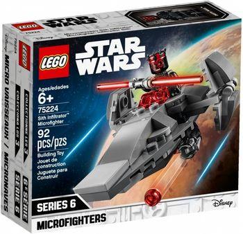 Klocki plastikowe LEGO Infiltrator Sithów 75224