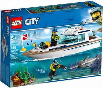 LEGO CITY Klocki  Zestaw Jacht 60221
