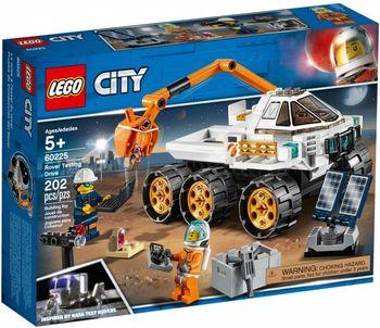 Klocki plastikowe LEGO Jazda próbna łazikiem 60225