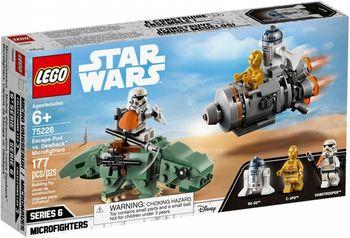 Klocki plastikowe LEGO Kapsuła ratunkowa kontra Dewback 75228