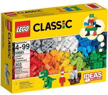 Klocki plastikowe LEGO Kreatywne budowanie 10693