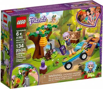 Klocki plastikowe LEGO Leśna przygoda Mii 41363
