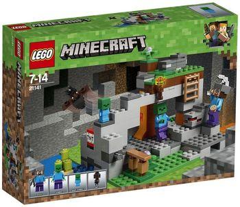 LEGO Minecraft, Klocki plastikowe Jaskinia zombie 21141