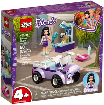 LEGO  Friends Mobilna klinika weterynaryjna Emmy 41360