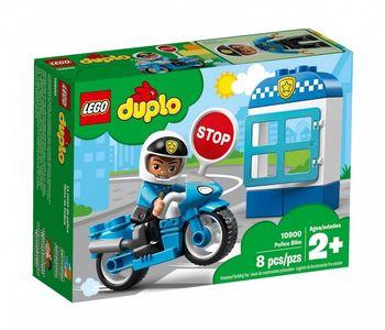 Klocki plastikowe LEGO Motocykl policyjny 10900