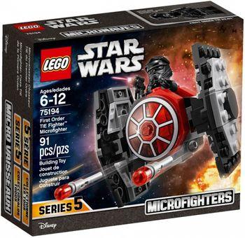 Klocki plastikowe LEGO Myśliwiec TIE Najwyższego Porządku 75194