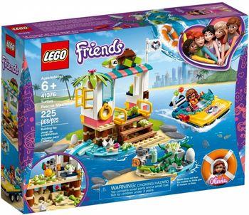 Klocki plastikowe LEGO Na ratunek żółwiom 41376