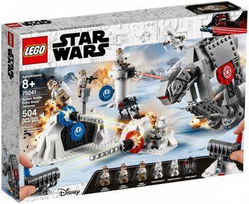 Klocki plastikowe LEGO Obrona Bazy Echo 75241