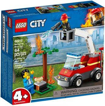 Klocki plastikowe LEGO Płonący grill 60212