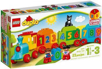 LEGO Duplo, Klocki Pociąg z cyferkami 10847