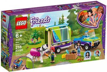 Klocki  LEGO Przyczepa dla konia Mii 41371