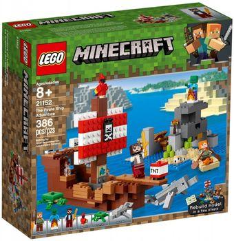 Klocki plastikowe LEGO Przygoda na statku pirackim 21152