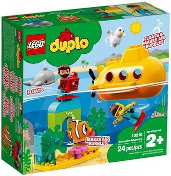 LEGO Duplo Przygoda w łodzi podwodnej 10910