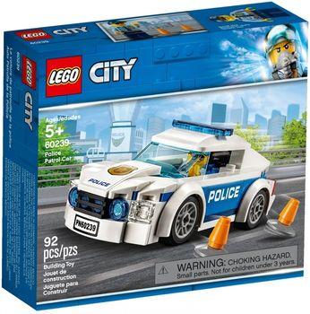 Klocki plastikowe LEGO Samochód policyjny 60239