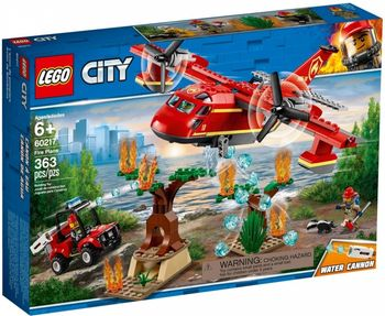 Klocki plastikowe LEGO Samolot strażacki 60217