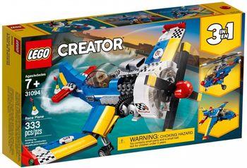 Klocki plastikowe LEGO Samolot wyścigowy 31094