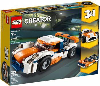 Klocki plastikowe LEGO Słoneczna wyścigówka 31089