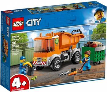 Klocki plastikowe LEGO Śmieciarka 60220