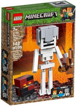 Klocki plastikowe LEGO Szkielet z kostką magmy 21150