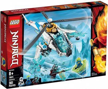 Klocki plastikowe LEGO Szurikopter 70673