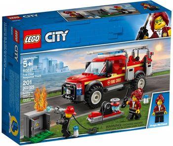 Klocki plastikowe LEGO Terenówka komendantki straży pożarnej 60231