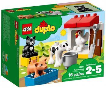 Klocki plastikowe LEGO Zwierzątka hodowlane 10870