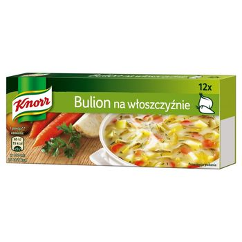 Knorr Bulion na włoszczyźnie 120 g (12 kostek)