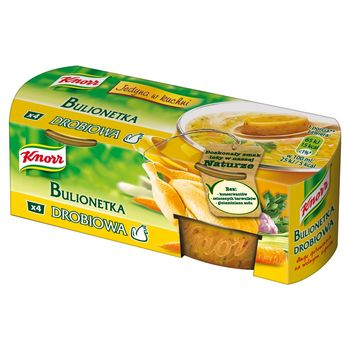 Knorr Bulionetka drobiowa 112 g (4 sztuki)