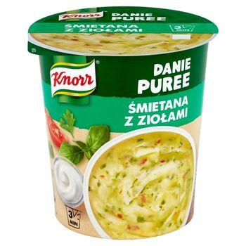 Knorr Danie Puree Śmietana z ziołami 48 g