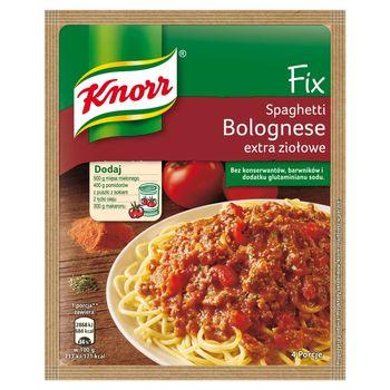 Knorr Fix spaghetti bolognese extra ziołowe 48 g